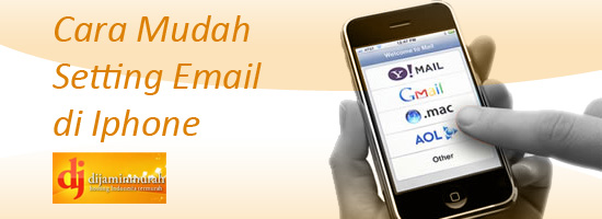 Setting Email Akun di iPhone