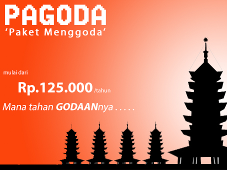 Paket pagoda dijaminmurah