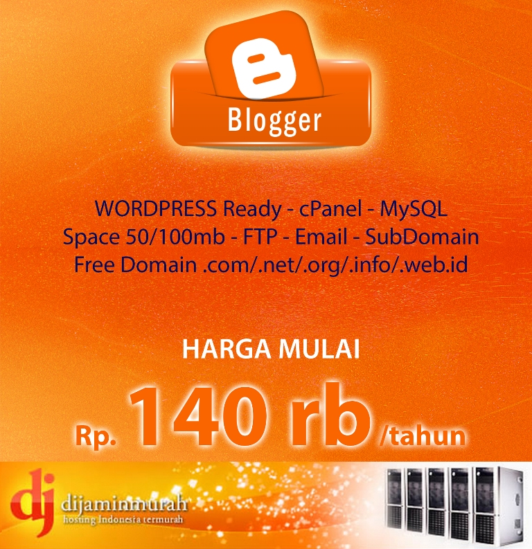 blog hosting dijaminmurah